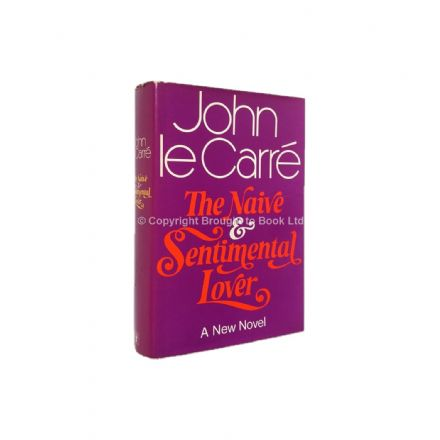 The Naive and Sentimental Lover Signed by John le Carré First Edition Hodder & Stoughton 1971